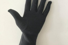 Long-Wristed-White-Cotton-Gloves-black-palm-military