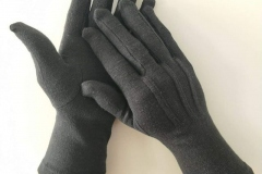 Long-Wristed-White-Cotton-Gloves-black
