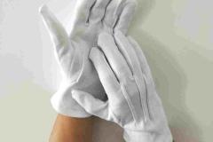 White-cotton-glovess