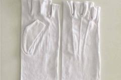 white-cotton-half-finger-gloves