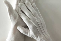 White-Cotton-Dotted-Long-Wristed-Gloves